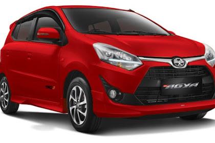 Harga Mobil Toyota Agya Terbaru Dan Sangat Berkualitas