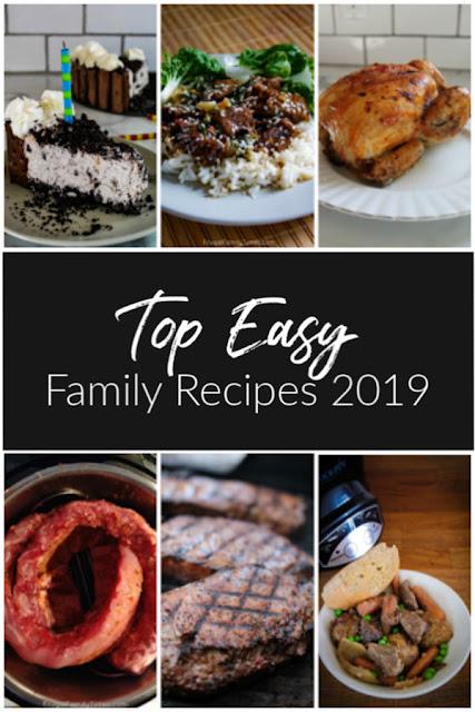 top easy family recipes 2019