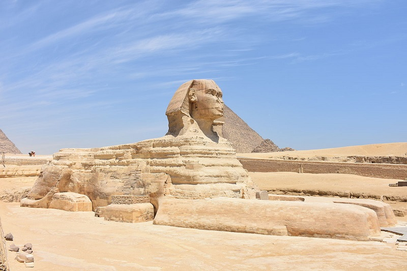 Great Sphinx of Giza, Egypt - One of the Most Famous Monuments in Egyptian History