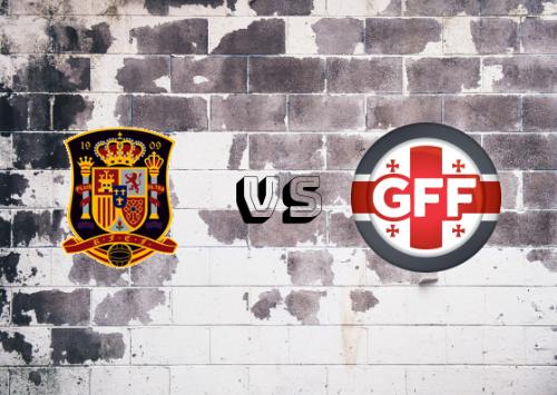 España vs Georgia  Resumen