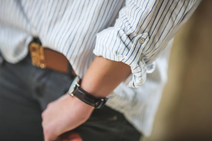 Treboli , camisa de rayas , Ray Ban, es cuestion de estilo , Ivan Perez fotografo , tendencia