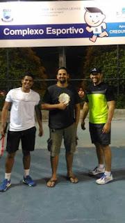 Atletas do CES estreiam com vitória no 8º Torneio de Tennis da UFCG