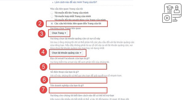 Các bước tiến hành khi fanpage bị facebook chặn  tên miền