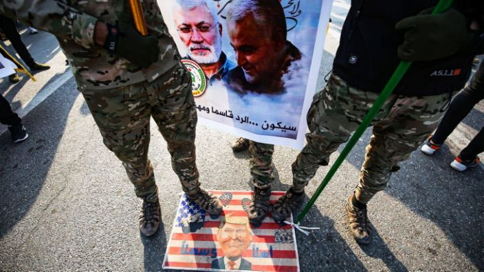 Iraq Tells Trump GTFO After Soleimani Strike