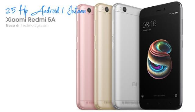 Xiaomi Redmi 5A harga terbaru 2020