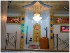 Jasa Kaligrafi Masjid Kota Solok