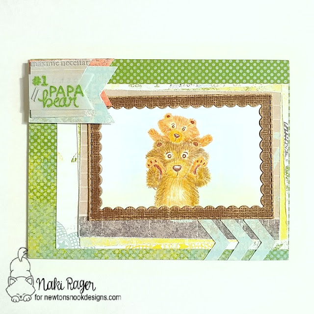 Newton's Nook Designs Papa Bear Set - Naki Rager