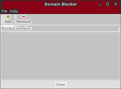 linux mint domain blocker
