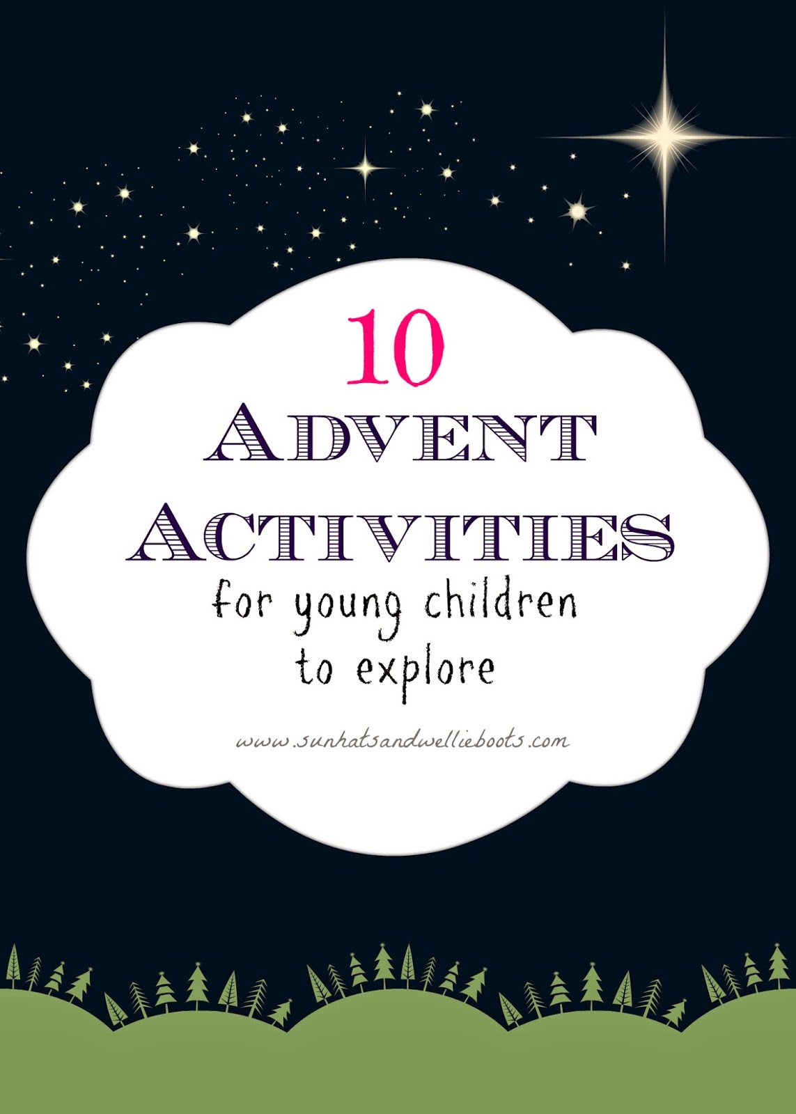 Sun Hats Amp Wellie Boots 10 Advent Activities For Young Children