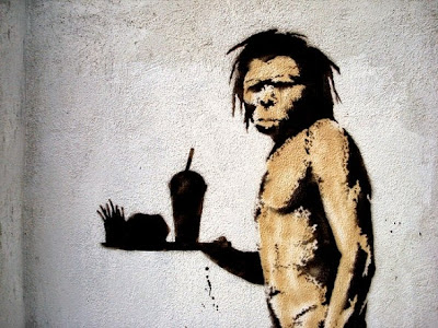 Paleo diet of primitive man hunter gatherers