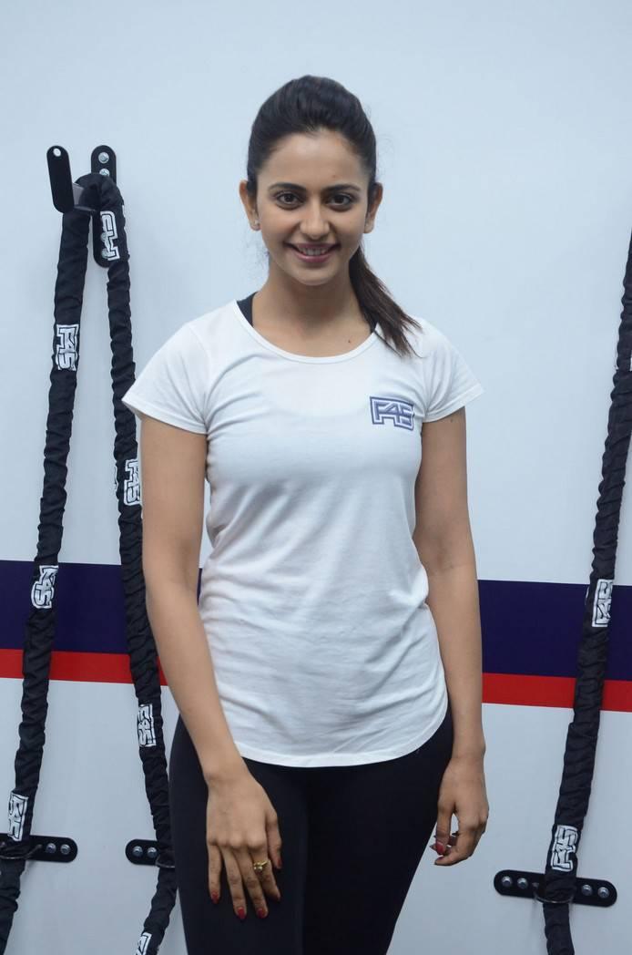 Rakul Preet Singh Photos At F45 Gym Launch At Kokapet