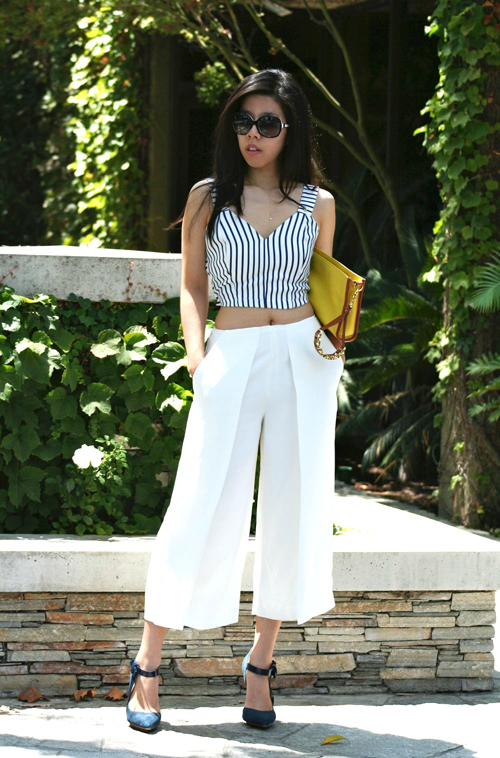 Adrienne Nguyen_Invictus_Summer Style_french Girl Style_Sailor_Sailing Outfit_Blue and White Stripes