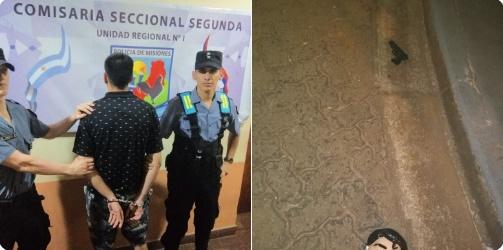 Posadas: Con pistola falsa y  enmascarado robó una heladería