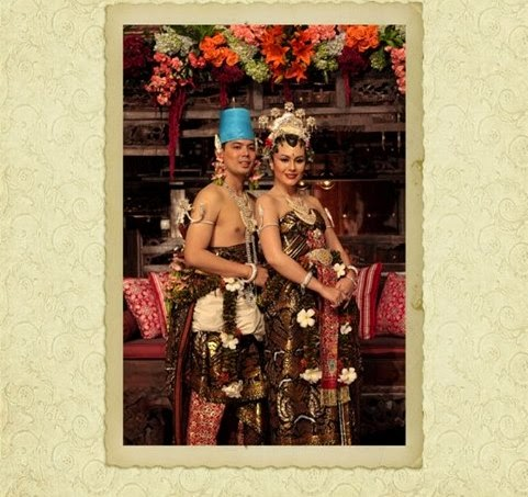 Wulan Guritno Adilla Dimitri Harjanto S Wedding 27 Maret 2009 One Thousand Loves