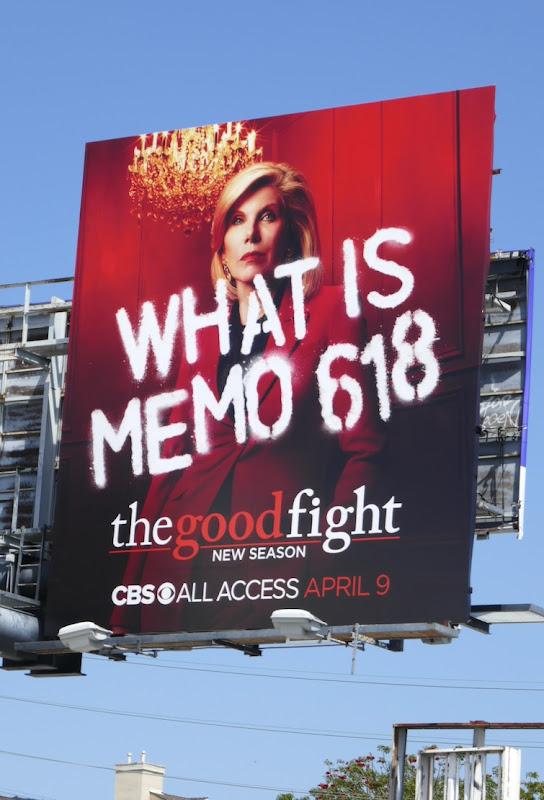 Christine Baranski Good Fight 4 Memo 618 billboard