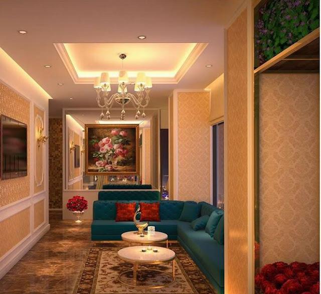 Lựa chọn giấy dán tường trong thiết kế spa