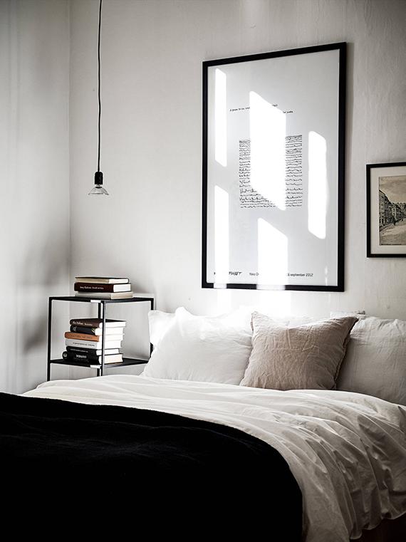 Scandinavian bedroom via Stadshem