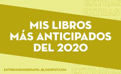 Mis libros más anticipados del 2020