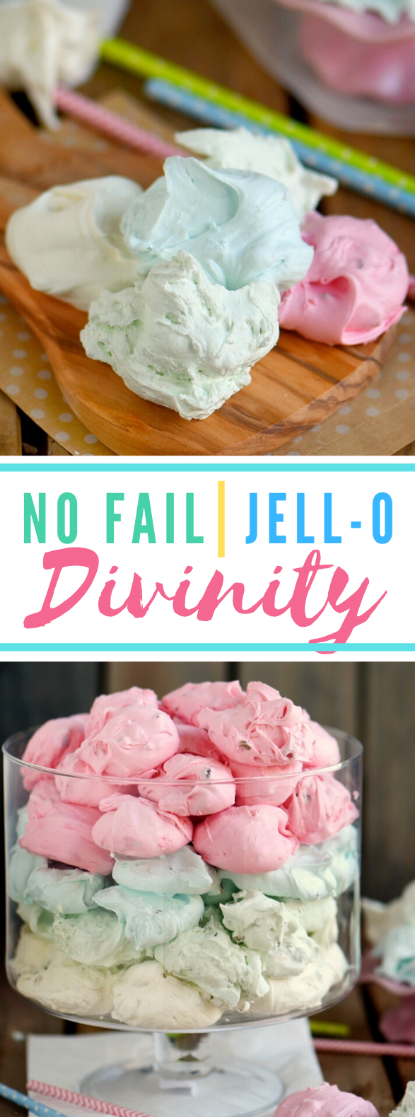 NO FAIL JELL-O DIVINITY #desserts #easterholiday