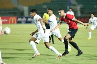 اهداف مباراة بيراميدز وطلائع الجيش (1-1) الدوري المصري