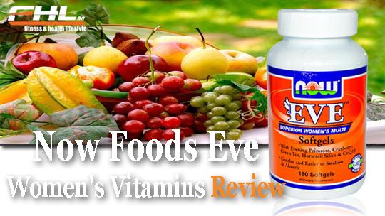 Най-добрите витамини за жени - eve женски витамини