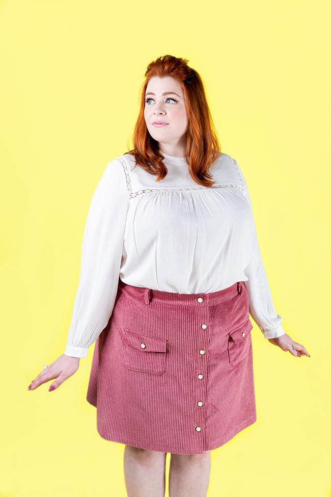 Bobbi pinafore or skirt sewing pattern