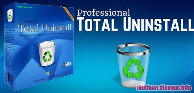 Download Total Uninstall Professional 6.16.0 Full Crack – Phần mềm gỡ bỏ ứng dụng mạnh mẽ