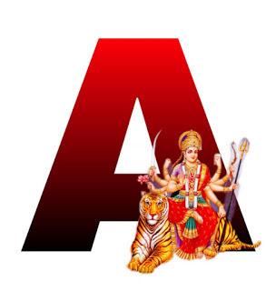 Download Whatsapp Dp Alphabet Image For Navratri 2020
