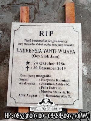 Contoh Bongpay Kristen, Jual Bongpay Kuburan Batu Granit, Bongpay Kuburan