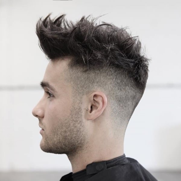 high top fade curly hair Matched Anyone who wants To Look Beautiful