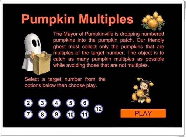 http://juegoseducativosonlinegratis.blogspot.com/2014/10/pumpkin-multiples.html