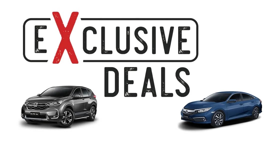 Honda Exclusive Deals