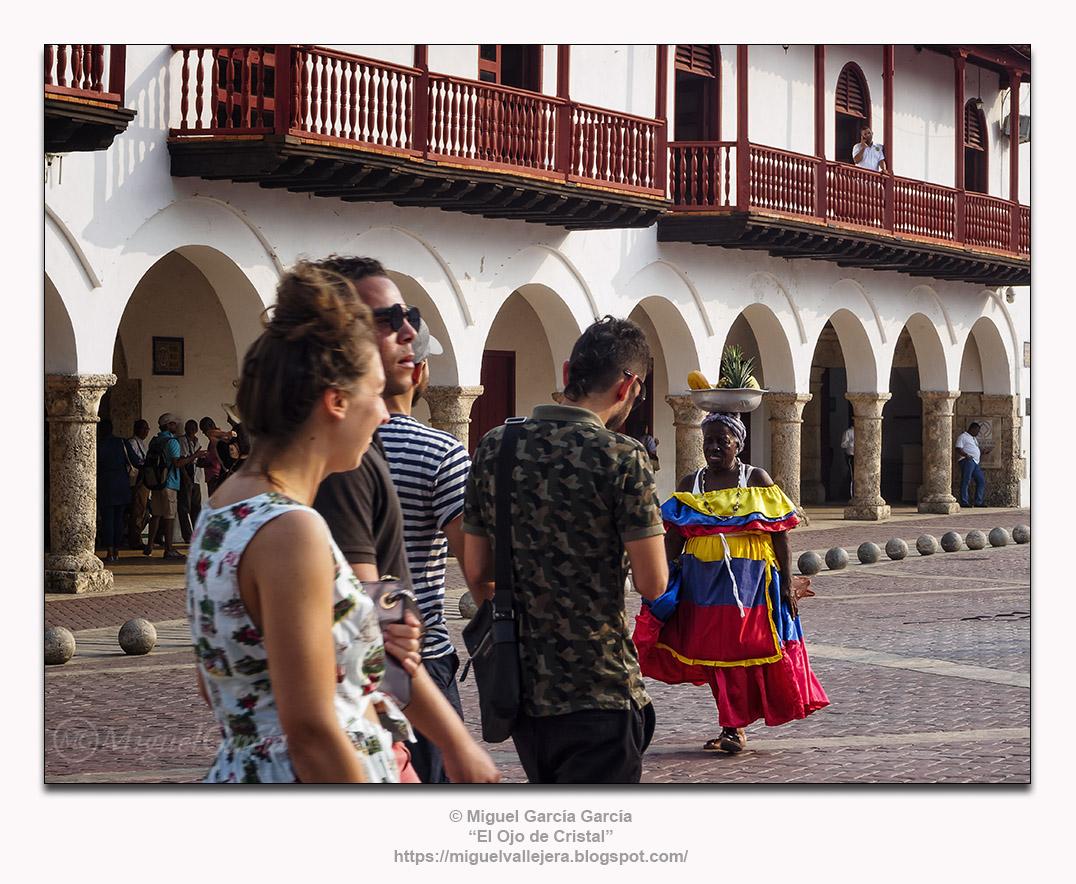 Cartagena, Colombia, y las palenqueras.