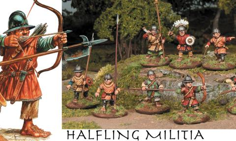 New Halfling Militia from Wargames Atlantic