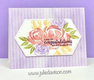Stampin' Up! Beautiful Friendship Card ~ www.juliedavison.com #stampinup
