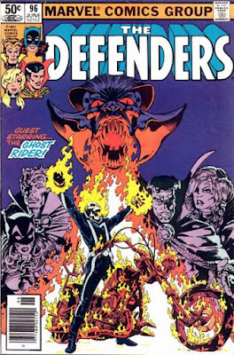 The Defenders #96, Ghost Rider
