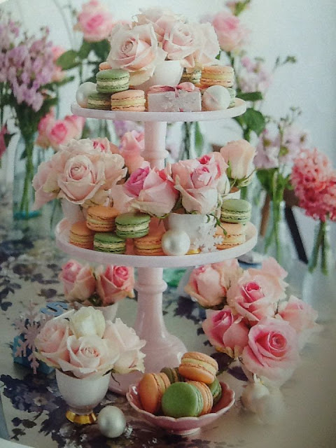 Beautiful bridal spring tea parties 15 pink bridal for Garden wedding designs philippines