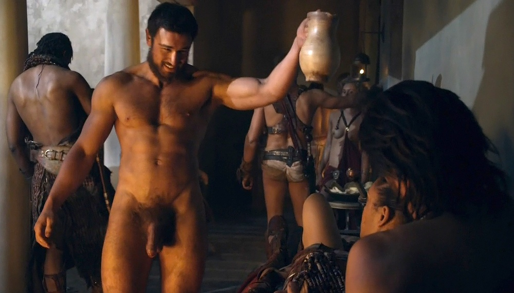 Not give naked men of spartacus nude something