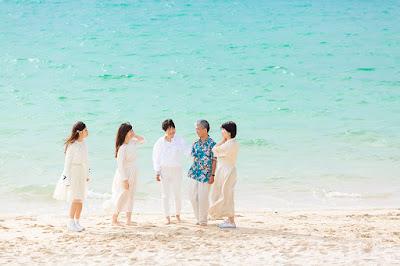 沖縄 還暦祝い 家族写真