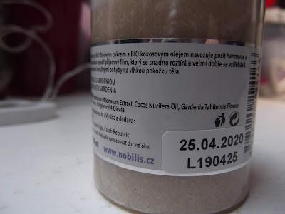 Telový peeling s gardéniou od Nobilis Tilia ingredients
