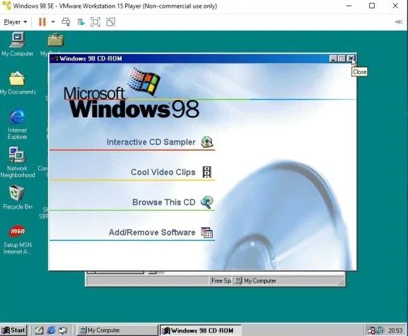 How to Run and Install Windows 98 on Virtual Mac