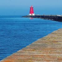 Images of Dublin: Poolbeg Lighthouse and Great South Wall