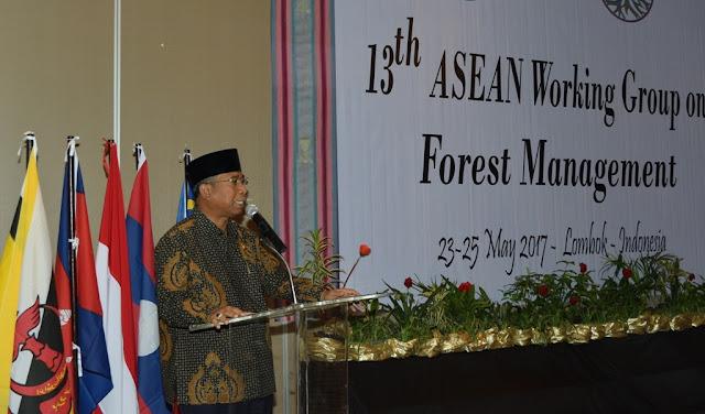 Delegasi ASEAN Tertarik Pola KPH Di NTB