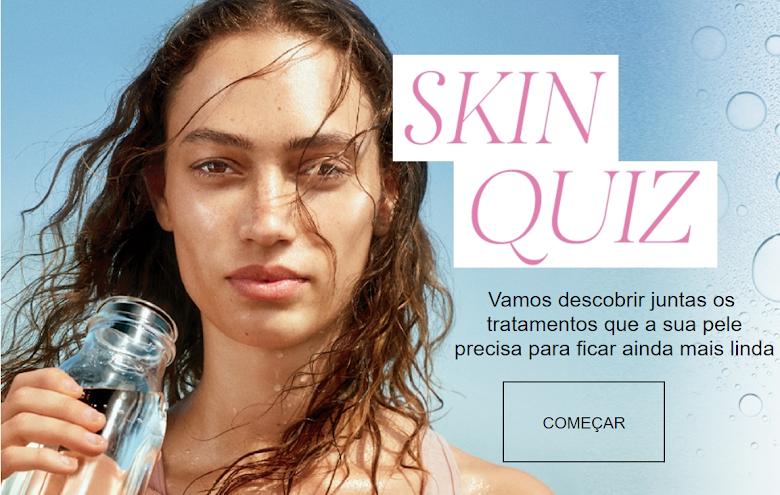 Teste | Qual o produto ideal para minha pele?