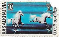 Selo Pintura de Cavalos