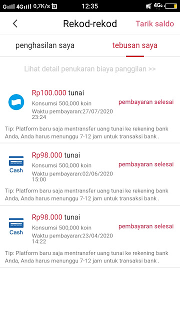 Cara Menarik Uang Di Cashzine