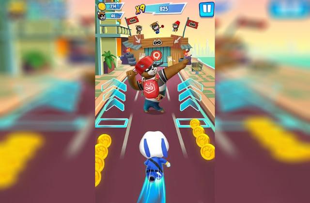 Talking Tom Hero Dash Android Game