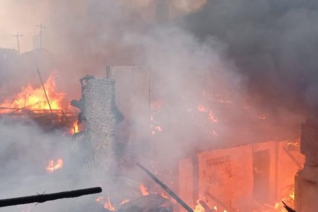 Ngeri! Video Kebakaran Lapas Tangerang, Semua Orang di Dalam Lapas Berhamburan Keluar