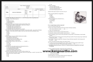 ada file pertanyaan kunci untuk semua guru sekolah dasar dari seluruh Indonesia untuk sec √  Soal UAS/PAS Kelas 3 Tema 2 SD Kurikulum 2013