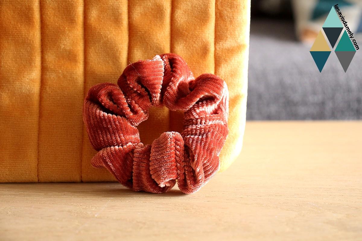 avis et test accessoire beauté chouchou velours Birchbox